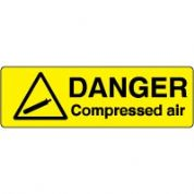 Markers safety sign - Compressed Air 005